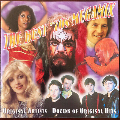 The Best 70's Megamix CD - Wizard, Sweet, John Holt And More - In Mint Condition • 3.99£