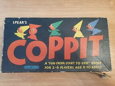 Coppit Board Game Spears Games Vintage 1964 • 7£