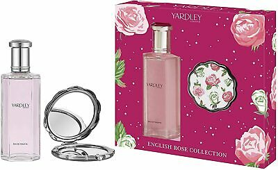 Yardley Of London English Rose EDT 125ml And Compact 2020 Christmas Gift Set   • 9.95£