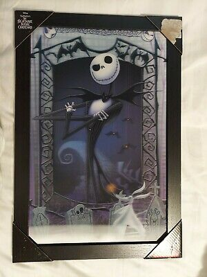 AU26.20 • Buy The Nightmare Before Christmas 3D Wall Art