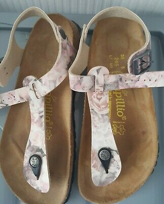 Ladies Papillio Birkenstock Sandals Size 5 • 8£