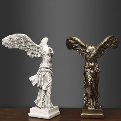 Ancient Greek Mythology Statue Goddess Sculpture Nike Winged Victory Figurine • 25.99£