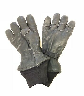 $29.95 • Buy Us Military Gloves M Men's Women's Intermediate Cold Wet Weather Lined Leather