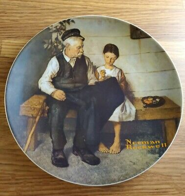 $ CDN7.49 • Buy The Edwin M Knowles China Co Plate 1979 Norman Rockwell 84-70-3.3