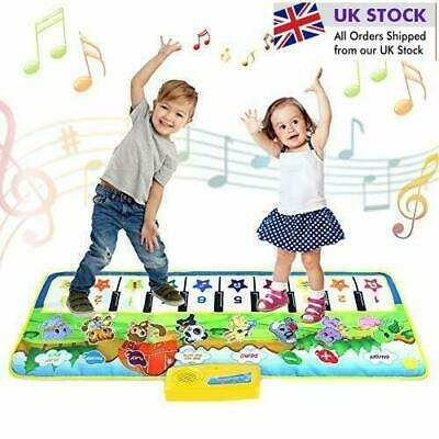 £19.99 • Buy Kids Piano Mat,Toddlers Kids Toys Age 1 2 3 4 5 Year Old Girls Boys Music Dance