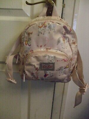 CATH KIDSTON Child's Oil Cloth CIRCUS PONIES Backpack  • 9.99£