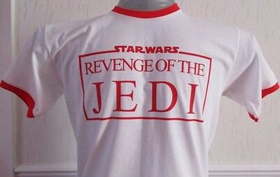 Star Wars Inspired  Revenge Of The Jedi  Men's Ringer T-shirt. • 9£
