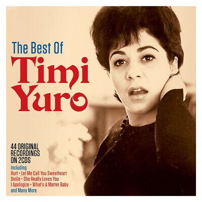 Timi Yuro - The Best Of - 2 Cds - New!! • 4.49£