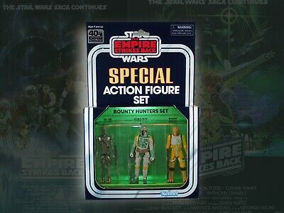 $ CDN107.57 • Buy Star Wars Special Action Figure Set BOUNTY HUNTERS ESB Vintage Box Custom