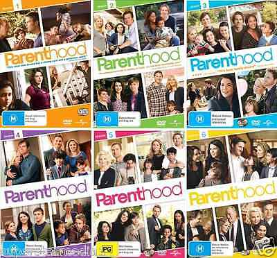 Parenthood Series COMPLETE COLLECTION Season 1 - 6 : NEW DVD • 54.63£