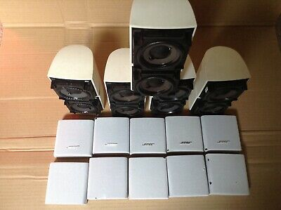 Bose X5 Acoustimass And Lifestyle Speakers • 135£