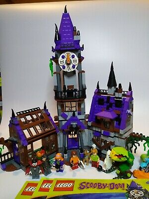 LEGO Scooby Doo - 75904 - Mystery Mansion *100% COMPLETE & INSTRUCTIONS* • 130£