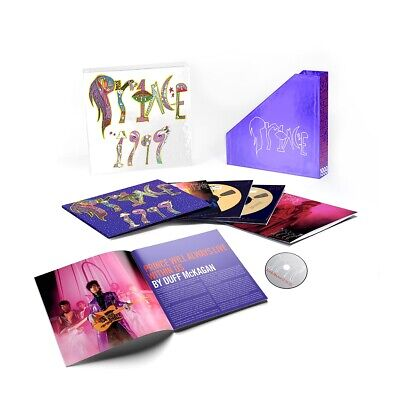 Prince - 1999 Remastered Super Deluxe Edition 5CD/DVD Box Set (2019) BRAND NEW • 120£