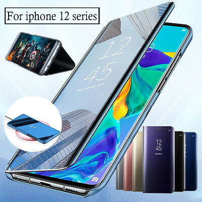 AU12.39 • Buy For IPhone 12 Pro Max Mini 11 XS XR 8 Mirror Luxy Clear Galaxy Flip Case  Cover