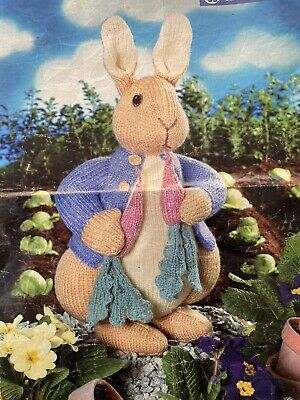 Alan Dart Beatrix Potter Toy Knitting Pattern • 25£