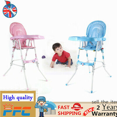 Travel Portable Baby High Chair Infant Child Foldable Toddler Feeding Seat • 29£