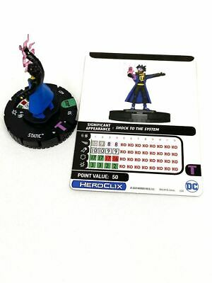 £2 • Buy 027 Justice League Unlimited - Static Uncommon HeroClix
