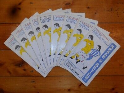 £2.25 • Buy 1976-77 CHESTER FC HOME FOOTBALL PROGRAMMES - Your Choice - FREE Postage