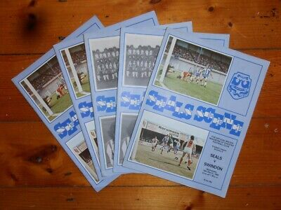 £2.60 • Buy 1979-80 CHESTER FC HOME FOOTBALL PROGRAMMES - Your Choice - FREE Postage