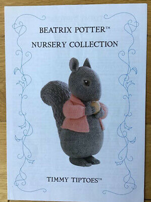 Beatrix Potter Knitting Pattern - Timmy Tiptoes - By Alan Dart • 25£