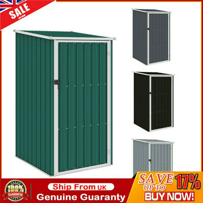 Garden Shed Patio Outdoor Tool Storage Small House Galvanised Steel Heavy Duty • 110.99£