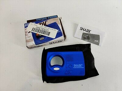 $ CDN12.61 • Buy Snark SN-3 Guitar And Bass Metronome Tuner - Blue