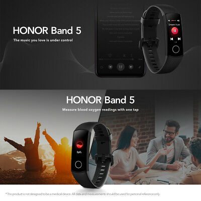 AU49.85 • Buy Huawei Honor Band 5 Multi-Sport Smart Watch 0.95  AMOLED Bluetooth 4.2 G7J4