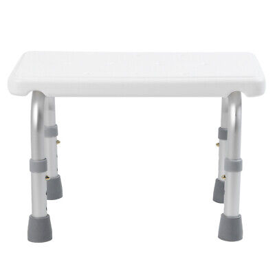 £38.16 • Buy Portable Bath Shower Seat Chair Stool Adjustable Height Mobility Bathing Aid