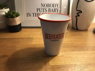 Brand New Beefeater London Gin Tin Cup Bar Pub Mancave • 8£