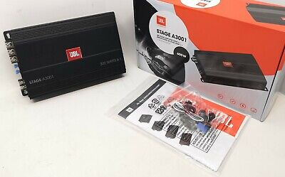 JBL Car Audio Mono Channel Amplifier 600W For Subwoofer Stage A3001 OPEN-BOX# • 99.99£