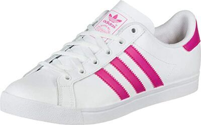 Uk Size 4.5 - Adidas Originals Court Star Leather Trainers - Ee7464 • 32£