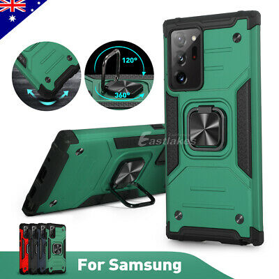 AU10.49 • Buy Heavy Duty Shockproof Magnetic Case Cover For Samsung S21+ S20 FE Note 20 Ultra