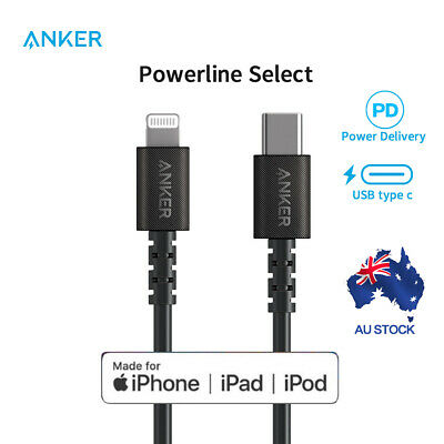 AU29.71 • Buy Anker Powerline Select USB-C To Lightning Cable For Iphone 11 12 X Xs