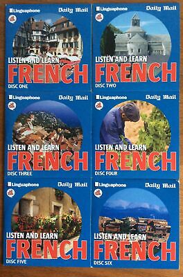 £10 • Buy Daily Mail Listen And Learn French X 6 Discs (discs 1-6) All Talk - Linguaphone