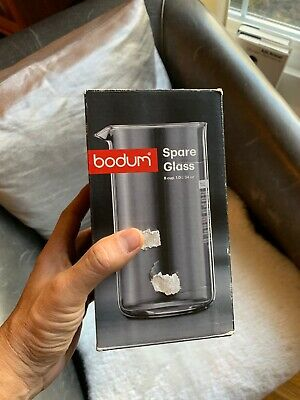 Bodum Spare Coffee Press Replacement Beaker, Glass - 1.0 Litres - 8 Cup Capacity • 18.71£