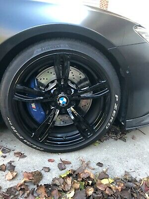 $999.99 • Buy  BMW M6 OEM 20 Inch Wheels And PZERO Performance Tires (4 Wheels + Tires) 343 M