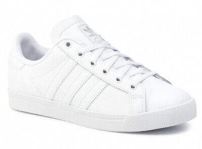 Uk Size 3 - Adidas Originals Court Star Leather Trainers - Ee9701 • 29£