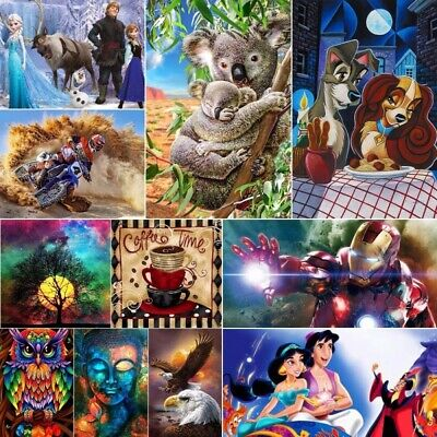 AU12.99 • Buy 5D Diamond Painting Embroidery Cross Stitch Xmas Gift In Discount Mural Decor