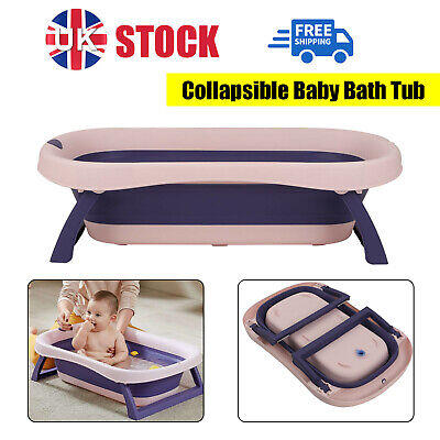 £30.59 • Buy Baby Bath Tub Collapsible Foldable Portable Washing Babies New Born Kids Toddler