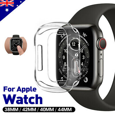 AU4.95 • Buy For Apple Watch IWatch Series SE 6 5 4 3 2 Case TPU Protective 38 40 42 44mm