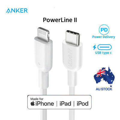 AU24.29 • Buy Anker USB C TYPE C To Lightning Cable With MFi Certified For IPhone X 11 12