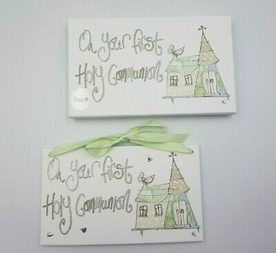 Tracy Russell On Your First Holy Communion Hanging Plaque Keepsake Gift • 6.99£