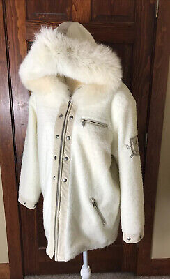 $599.99 • Buy RARE!! M. Miller Thinsulate Ski Jacket Suede Trim Fur Hooded Embroidery