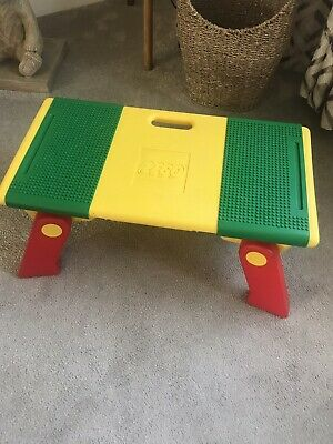 Lego Vintage Play Table Take Along With Sliding Storage • 38.99£