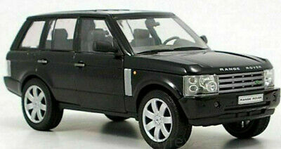 LAND ROVER RANGE ROVER 1:24 Scale Diecast Model Toy Car Miniature Black • 29.97£