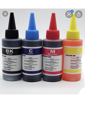 AU38.99 • Buy 4 X 100ml Refill Ink For HP915XL & HP915 BK C M Y Ink Cartridges, Easy To Refill
