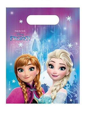6 DISNEY FROZEN - LOOT PARTY BAGS - Various Amounts - For Girls Favours Toys • 1.99£