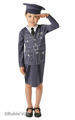 Girls WRAF Book Day Costume Kids Womens Royal Air Force Fancy Dress Childs • 10.99£