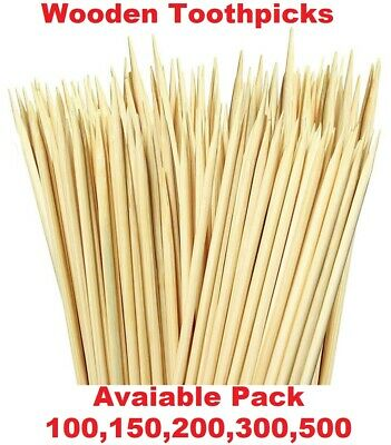 £2.29 • Buy Wooden Cocktail Sticks Party Fruit Cherry Cheese Toothpicks Tooth
