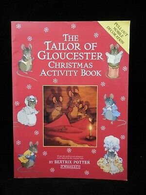 £10.61 • Buy The Tailor Of Gloucester Christmas Activity Book Pull Out Mobile
